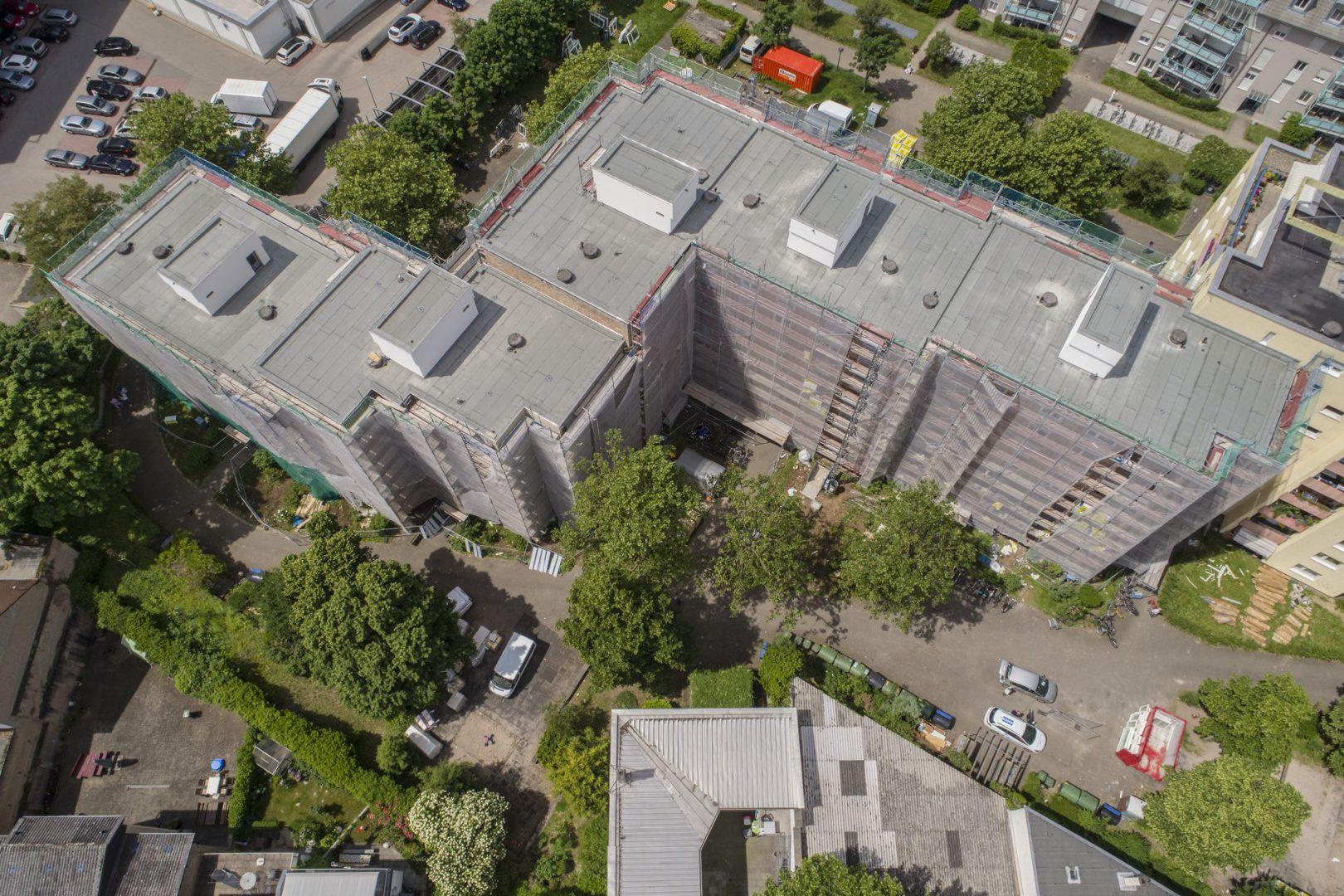Bestandsgebaude Wohnungsbau Kernsanierung In Karlsruhe Koch